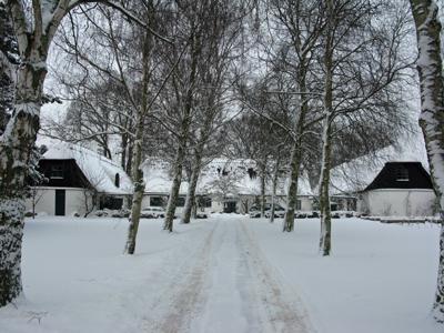 Præstegården i vinterklæder
